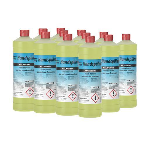 Tomy Handspülmittel Zitrone/Zitrus 12x1 Liter im Karton