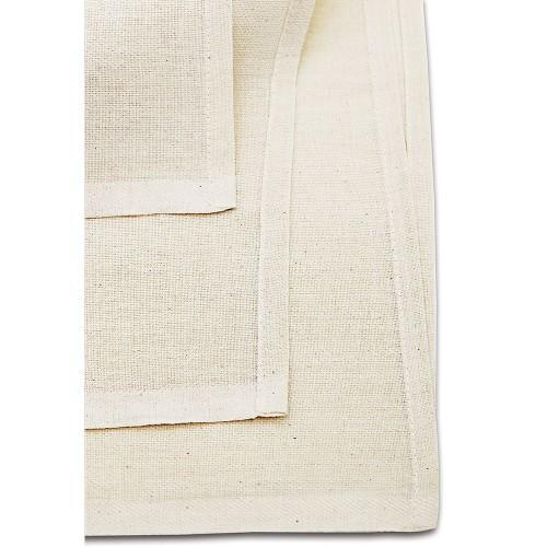 25er Set Passiertücher / Knödeltücher 80 x 80 cm natur Baumwolle