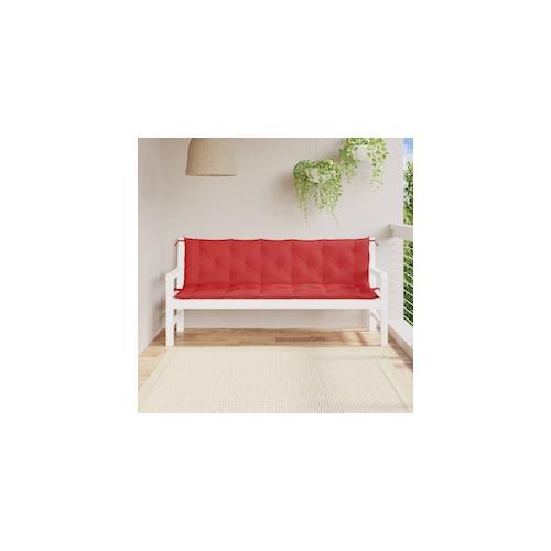 vidaXL Auflage für Hollywoodschaukel Rot 180 cm Stoff