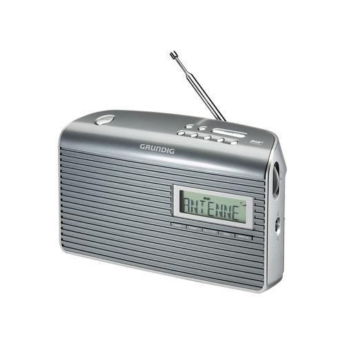 GRUNDIG Music 7000 DAB+ Portables Radio (Grey/Silver)
