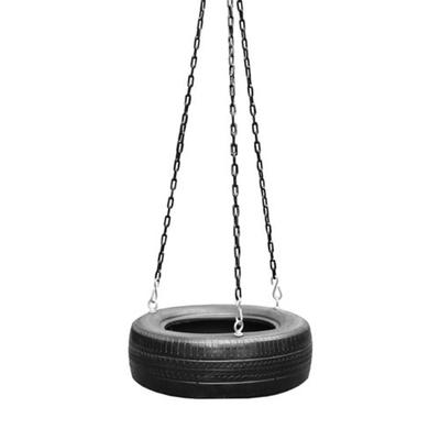 M&M Sales Enterprises Black Treadz Traditional Tire Swing