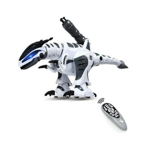 Dino Roboter RC Interaktiv Roboter weiß