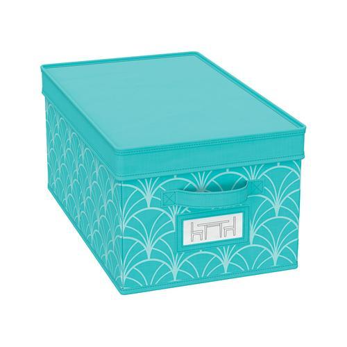 Livarno Home Aufbewahrungsbox/Schubladenaufbewahrung (türkis, Aufbewahrungsbox)