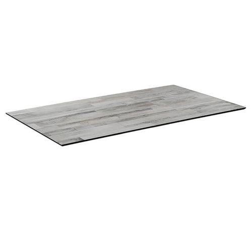 Tischplatte compact WhiteBlock dunkel 120X69cm Outdoor Hotel dünn Esstisch Bistrotisch Terrassentisch