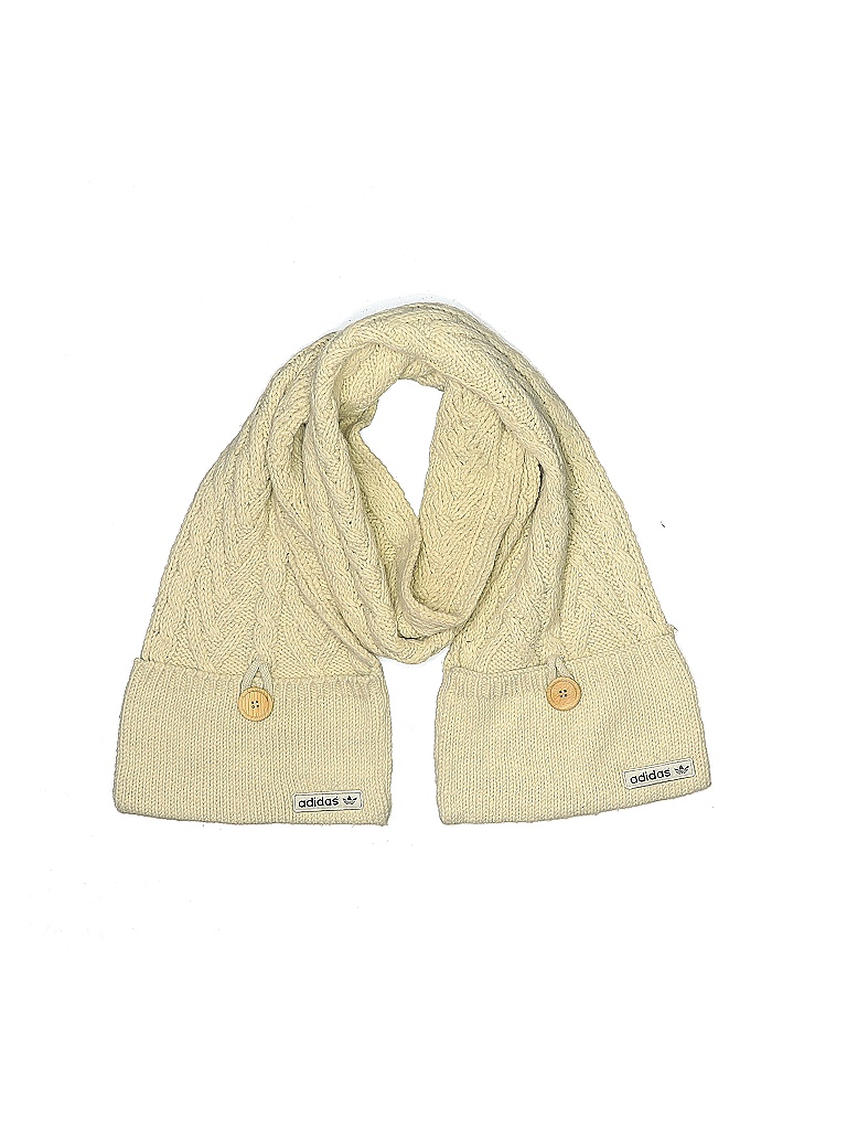 Adidas Scarf: Tan Solid Accessories