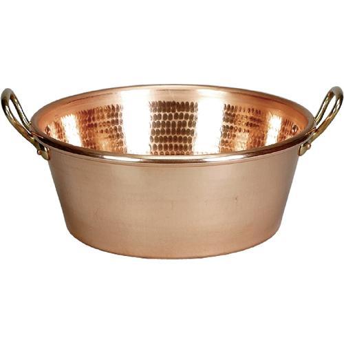1 x SCHNEIDER Kupfer-Konfitürenschüsseln 360 mm