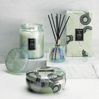 Voluspa White Cypress Holiday Collection - Reed Diffuser - Frontgate