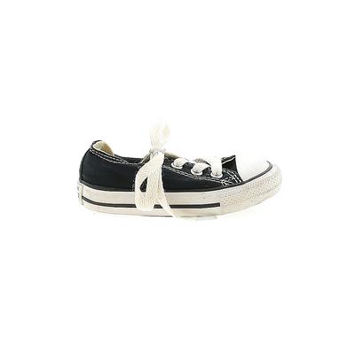 Converse Sneakers: Black Shoes - Size 5