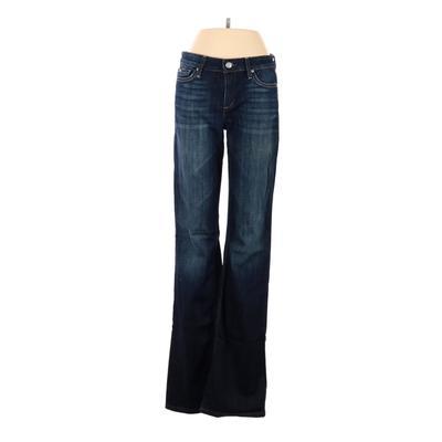 Joe's Jeans Jeans - High Rise: Blue Bottoms - Size 27