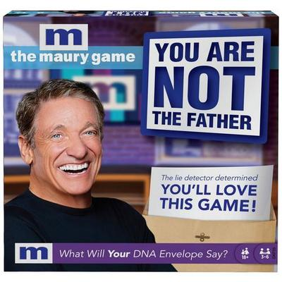 Mattel The Maury Game You Are Not The Father