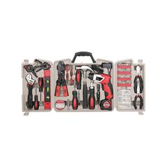 Apollo Tools Tool Sets Red - 161-Piece Household Tool Kit & Cordless Screwdriver