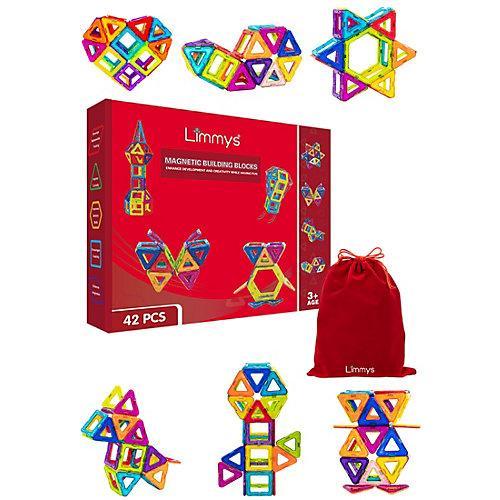 Spielzeug Magnetic Blocks 42-tlg. Gartenspielzeug mehrfarbig