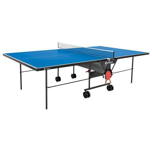 Sponeta Tischtennisplatte inkl. Abdeckhülle (blau)