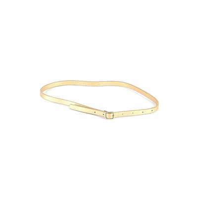 J.Crew Belt: Gold Solid Accessories - Size Small