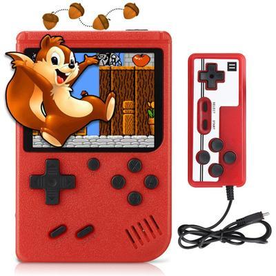 Mini Console de jeux vidéo rétro Portable pour enfants, 400 jeux intégrés, avec poignée filaire,