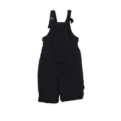 Hanna Andersson Snow Pants With Bib: Black Sporting & Activewear - Size 120