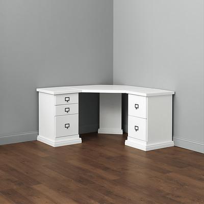 Wood Top - Corner Desk Group Small - Ballard Designs