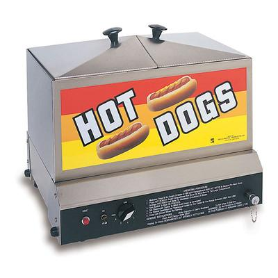Gold Medal 8007 Hot Dog Steamer w/ (80) Hot Dogs & (40) Bun Capacity, 120v