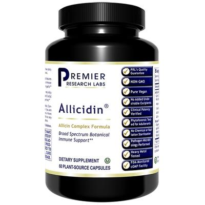 Premier Research Labs Allergy Relief - Allicidin - 60 Vegetarian