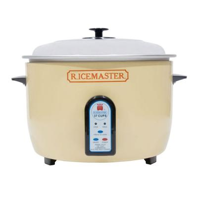Town 57138 37 Cup Electric Rice Cooker, One Touch, Auto Cook/Hold, 230v/1ph