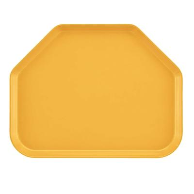 "Cambro 1418TR171 Fiberglass Camtray? Cafeteria Tray - 18""L x 14""W, Tuscan Gold"