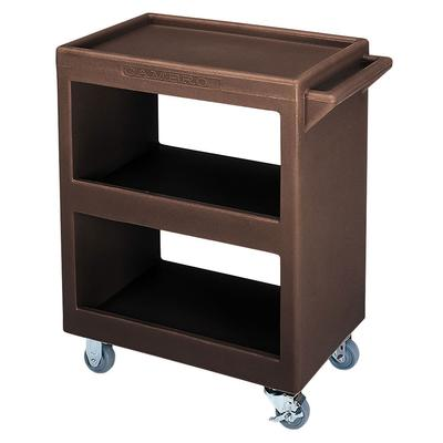 Cambro BC2254S131 3 Level Polymer Utility Cart w/ 350 lb Capacity, Raised Ledges