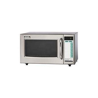 Sharp 1000 Watt Medium Duty Commercial Deluxe Programmable Microwave