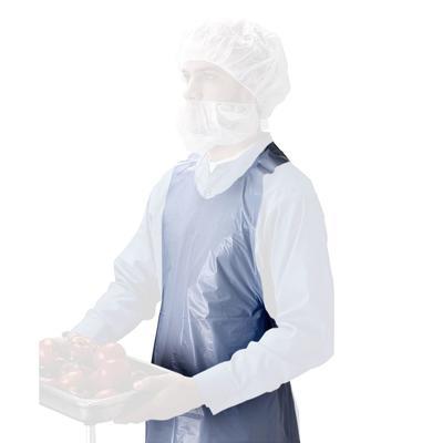 "Tomlinson 1036327 2 ml Thick Polyethylene Disposable Apron, 28 x 46"""