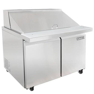 "MoTak MST-48-18 46 7/8"" Sandwich/Salad Table w/ Refrigerated Base, 115v"