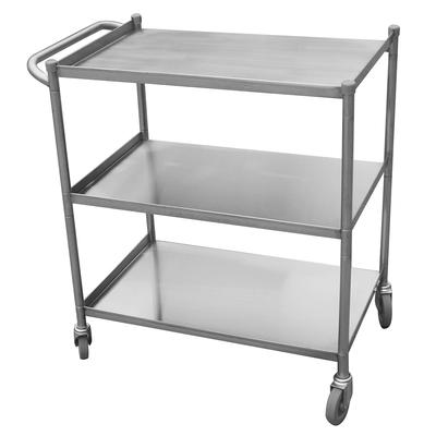 """Turbo Air TBUS-2133 Stainless Steel Utility Cart, 21 x 33"""""""