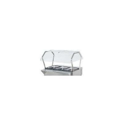 ServeWell Buffet Breath Guards, NSF, Plexiglas / Stainless Steel, Fits 38004