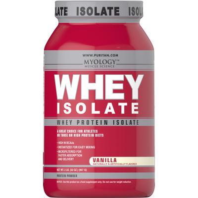 Myology Whey Protein Isolate Vanilla-2 lbs Powder