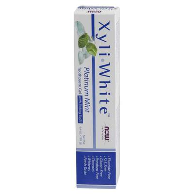 NOW Oral Health - NOW Solutions - XyliWhite Toothpaste Gel, Platinum