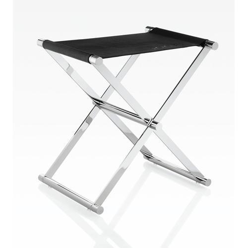Joop Barhocker CHROMELINE, zusammenklappbar schwarz Barmöbel Küchenmöbel