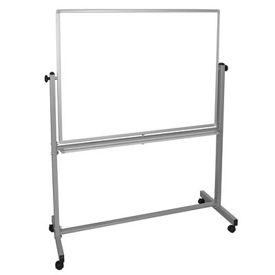 """Luxor MB4836WW Reversible Whiteboard w/ 2 Magnetic Sides, 48 x 36"""""""