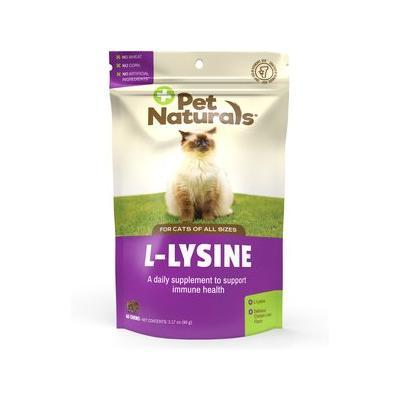 Pet Naturals L-Lysine Cat Chews,...