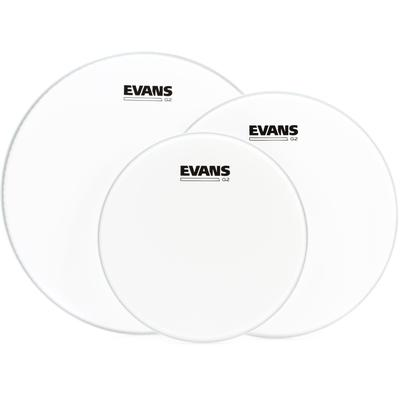 Evans G2 Coated 3-piece Tom Pack - 10/12/14 inch