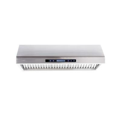 """AP238-PS61-36 36"""" Stainless Steel Under Cabinet Range Hood With 900 CFM Touch"""