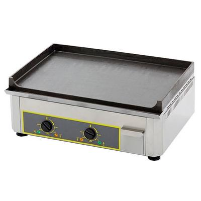 """Equipex PSE-600/1 24"""" Electric Griddle w/ Thermostatic Controls - 1"""" Cast Iron Plate, 120v"""