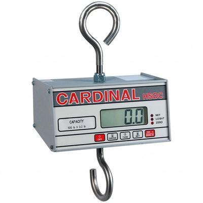 """Detecto HSDC-100 Hanging Scale w/ 1"""" Digital Readout, 99 9/105 x 1/20 lb, Battery powered"""