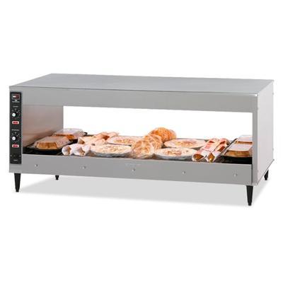 "BKI SM-51 51"" Self Service Countertop Heated Display Shelf - (1) Shelf, 120v"