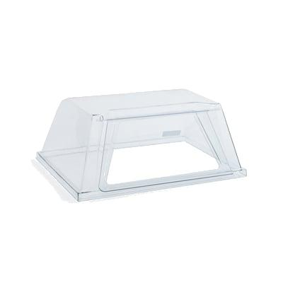 Nemco 8250-DGD Pass Thru Sneeze Guard For 8250 Series Roller Grills, Polycarbonate, Clear