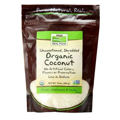 NOW Baking and Cooking - NOW Real Food - Organic Coconut