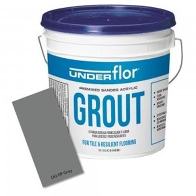 Congoleum Duraceramic Premixed Gray Grout 1 gallon bucket