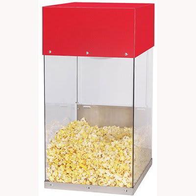 Gold Medal 5509 Popcorn Crisper w/ 2 Lamp Warmers & Lexan Cabinet, 120v