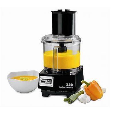 Waring Liquilock Food Processor, 3-1/2 Qt. Capacity (WFP14S)