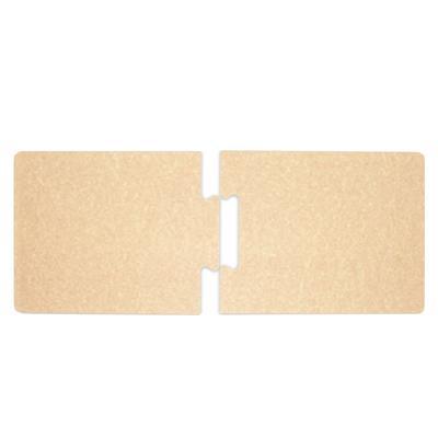 "Epicurean 629-271201 2-Piece Stock Puzzle Board - 27"" x 12"", Composite Wood, Natural"