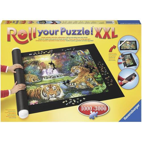 Ravensburger Puzzleunterlage Roll your Puzzle XXL, für Puzzles von 1000 - 3000 Teilen; Made in Europe schwarz Kinder Puzzle-Zubehör Gesellschaftsspiele