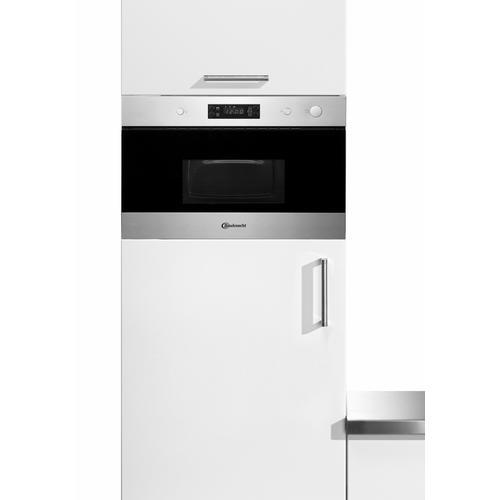 BAUKNECHT Einbau-Mikrowelle EMNK3 2138 IN, Mikrowelle, 750 W silberfarben Mikrowelle SOFORT LIEFERBARE Haushaltsgeräte