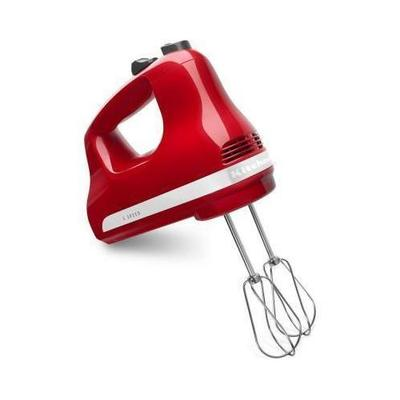 KitchenAid Ultra Power 5-Speed Hand Mixer KHM512 Color: Empire Red